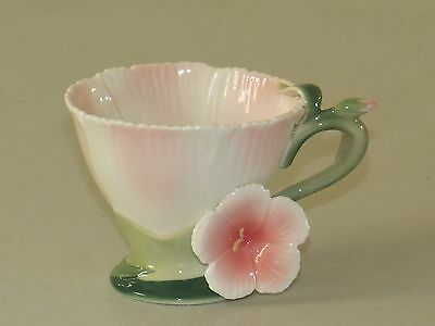 Lovely Two's Company ~ Garden Party ~ Pink Hibiscus / Cherry Blossom Tea Cup