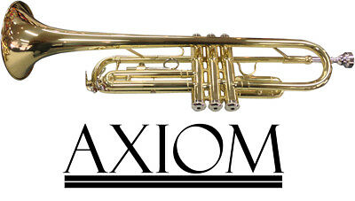 Axiom Student Trumpet - Beginners Trumpet with case