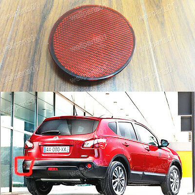 Rear Bumper Left Reflector Light Lamp For Nissan Qashqai 2007-2013