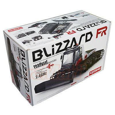 Kyosho 1:12 Blizzard FR Belt Vehicle Syncro KT-431S 2.4GHz Readyset RC #34901