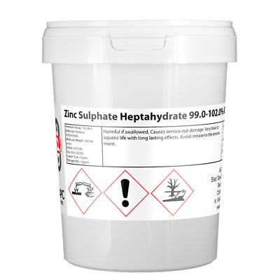 Zinc Sulphate heptahydrate 99% ACS 1Kg