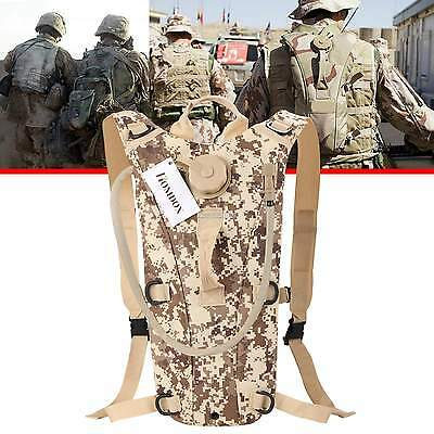 3L Water Bladder Bag Backpack Hydration Packs Hiking Camping Useful Solid