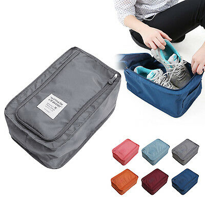 Portable Travel Organiser Tote Shoes Pouch Waterproof Storage Bag