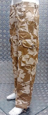 Genuine British Army Desert Camo or MTP Windproof Combat Trousers - All Sizes -