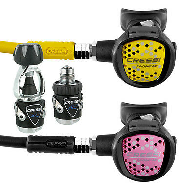 Cressi Kit Mc9 Xs Compact Pink + Octopus Xs Compact 05CH