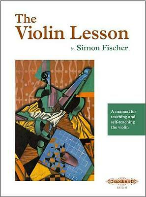 The Violin Lesson by Simon Fischer - Edition Peters Publishing