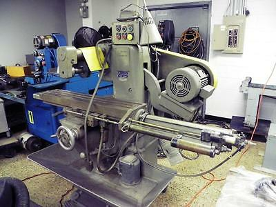 U.S. Burke D2 Horizontal Production Mill with Pneumatic Table Feed