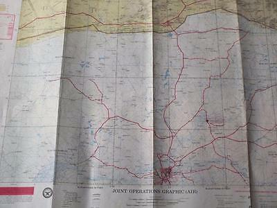 Nigeria SOKOTO  Military Joint Operations Graphic (AIR) Map 1989  ref:c5:652