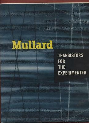 Mullard. 1956. Junction transistors and other semiconductor devices   ra.34