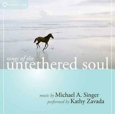 Songs of the Untethered Soul by Michael A. Singer Compact Disc Book Free Shippin