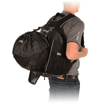 Oxford XB25 Lifetime Luggage Motorcycle Motorbike Back Pack with Bladder | Black