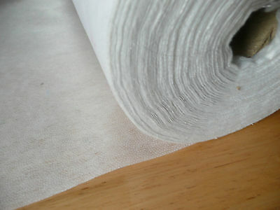 Soft Handle Medium weight fusible iron on interfacing 90cm wide, by the metre