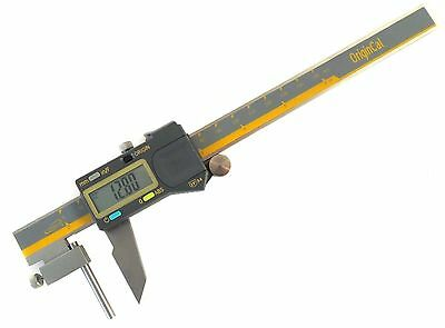 """iGaging Absolute 6""""/150 mm Tube Cylinder Thickness  Digital Calipers IP54 SS"""