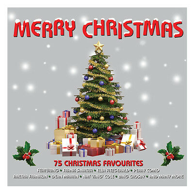 Merry Christmas BEST OF 75 SONGS Classic Holiday Music Collection NEW 3 CD