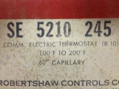 Robertshaw 5210-245 - Commercial Electric Thermostat - Open Box