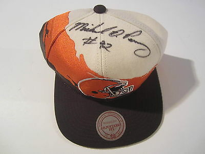 Michael Dean Perry Cleveland Browns Signed Autographed Hat COA