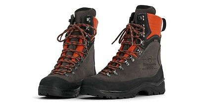 New Husqvarna Technical 24 Protective Leather Chainsaw Boots Class 2 - All Sizes