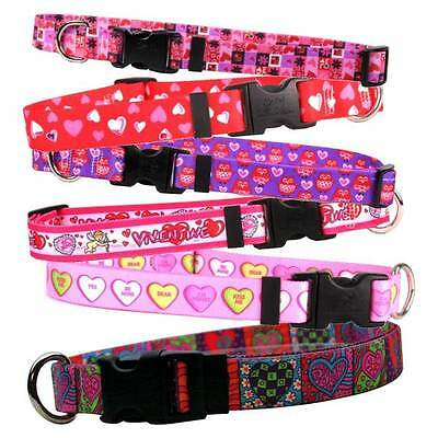 DOG COLLARS VALENTINES DAY * 17 Unique Designs * Puppy Love Themed Pet Styles