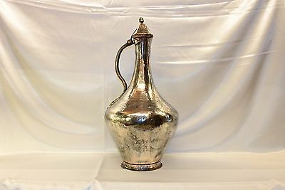 Antique Original Handmade Copper  Ottoman Anatolian Amazing Big Heavy Pitcher