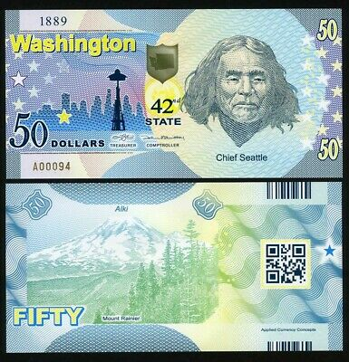 SET Federation of North America, 1;5;10 Ameros, 2015, Clear Window Polymer