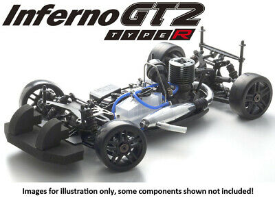 Kyosho 1/8 INFERNO GT2 Type-R Chassis KIT GP 4WD 33005B