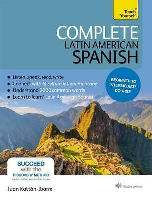 Complete Latin American Spanish with Two Audio CDs: A Teach Yourself Guide: (Boo