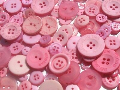 Cotton Candy Pink - Button Selection