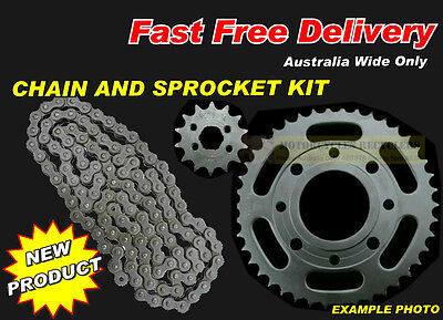HEAVY DUTY X RING CHAIN and SPROCKET KIT suit HYOSUNG GT650R 2005 to 2014