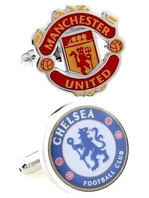 Chelsea England Arsenal Manchester United football club cufflinks official