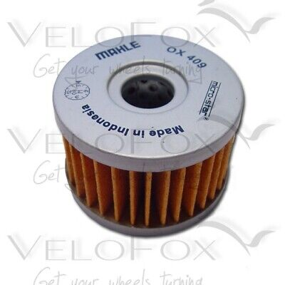 Mahle Oil Filter fits Suzuki XF 650 U Freewind 1997-2002