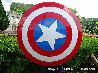 Avengers Weapon Armor Captain America Steve Rogers Vibranium Shield Prop Cosplay