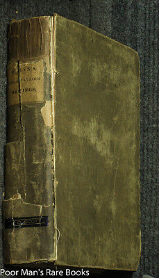 THE MISCELLANEOUS WRITINGS OF JOHN EVELYN, ESQ AUTHOR OF SYLVA 1825 BOTANY Herbs