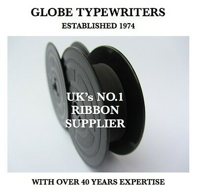 Typewriter Ribbon '1004Fn-Group 4' *black* 10 Metre-Twin Spool *air Sealed*