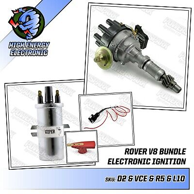 45D4 Performance high energy distributor bundle with Viper coil /& 10mm HT leads