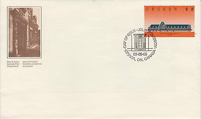 CANADA #1182 $2 McADAM RAILWAY STATION FIRST DAY COVER