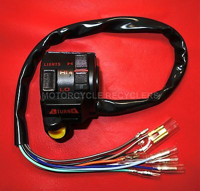 LEFT HAND SWITCH ASSEMBLY | SWITCH BLOCK | XR250 XR400 1996 to 2004