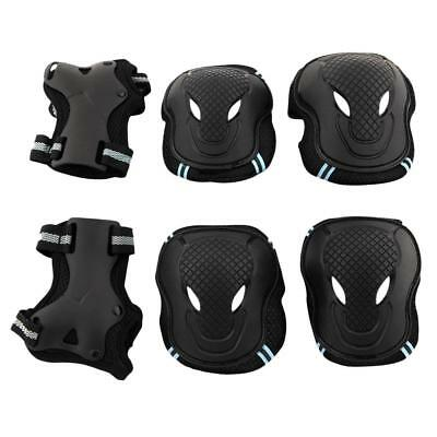 6pcs Set Skating Scooter Elbow Knee Wrist Safety Pad Gear Protect Kids Adult