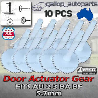 10X for Ford Falcon AU BA BF Door Lock Actuator 5.7mm Cog Gear Territory Series3