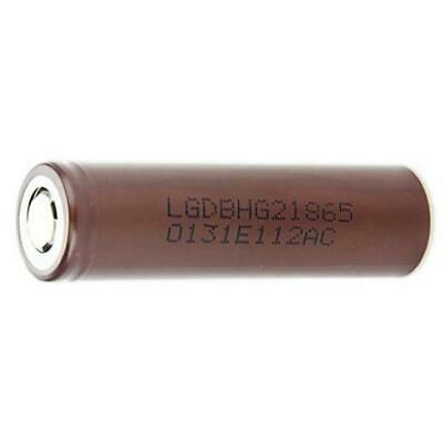 LG HG2 18650 20A 3000mAh 3.7V Rechargeable Lithium Battery Vaping Vape Batteries