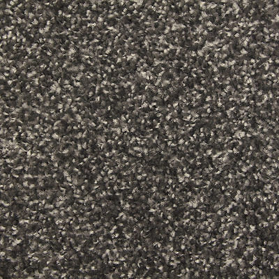 Balta-Quality Luxurious - Grey 13mm Saxony Pile - Hessian Backed Carpet - NEW!