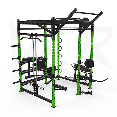 We R Sports Power Rack Home Gym Crossfit Power Cage Pull Ups Chin Up Triceps