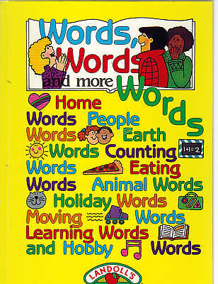 Words Words and More Words/My First Word Book McLaren