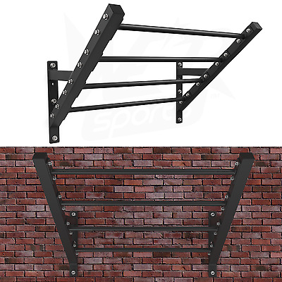 We R Sports Wall Mounted Flying Pull Up Bar Rig Monkey GymBar Strength Training
