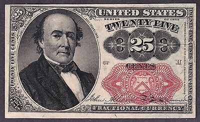 US 25c Fractional Currency 5th Issue FR 1309 Ch CU Pos 67 H
