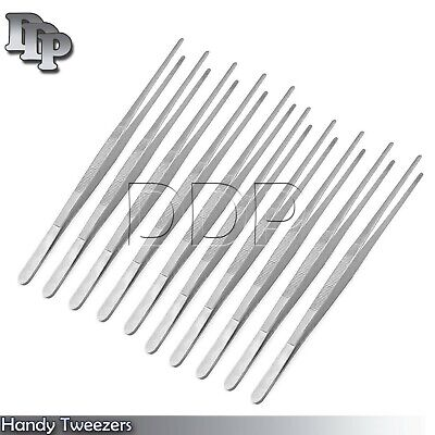 10 Handy 12'' Inch Long Stainless Tweezers New Brand