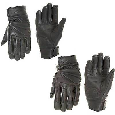 RST Cruz Retro Cruiser Leather Bike Motorcycle Gloves | All Colours & Sizes