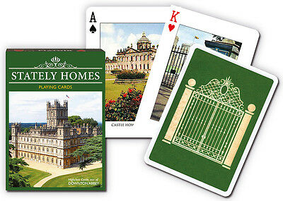 Stately Homes set of 52 playing cards (gib)