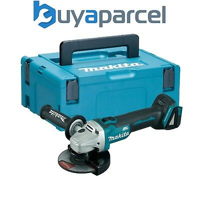 Makita DGA504Z 18v Cordless Brushless Angle Grinder Lithium 125mm + Makpac Case