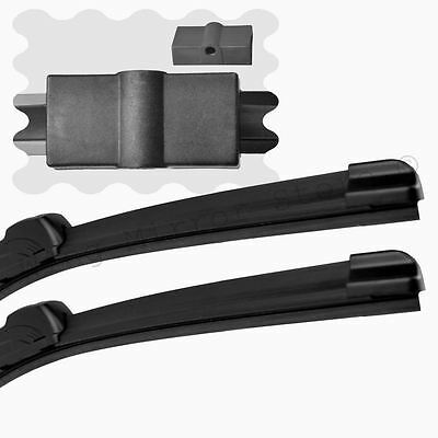 """For BMW 3 Series Saloon E90 2005-2009 Front Windscreen 24"""" 19"""" Flat Wiper Blades"""