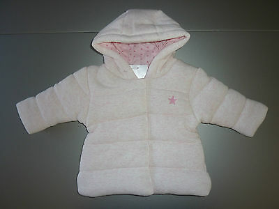 NEXT Gorgeous Little Pink Hooded Jacket NWT